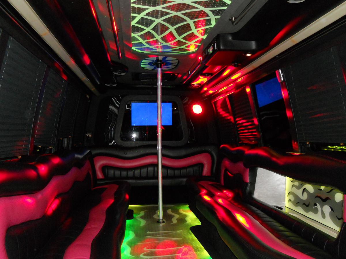 Party Bus Rental All Sizes Los Angeles Orange County California